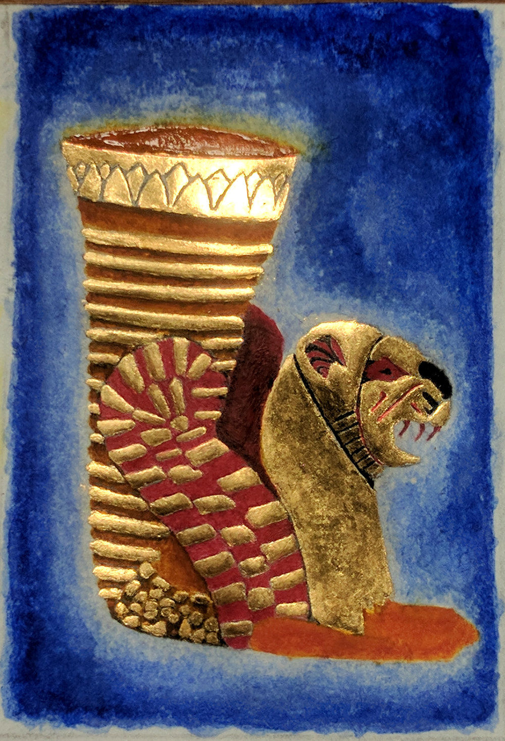 Rhyton, complete, in different light