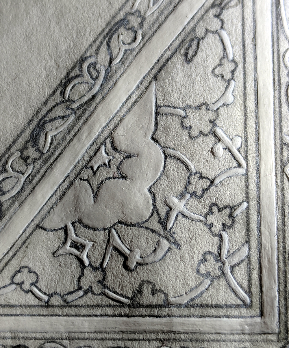 closeup, showing texture