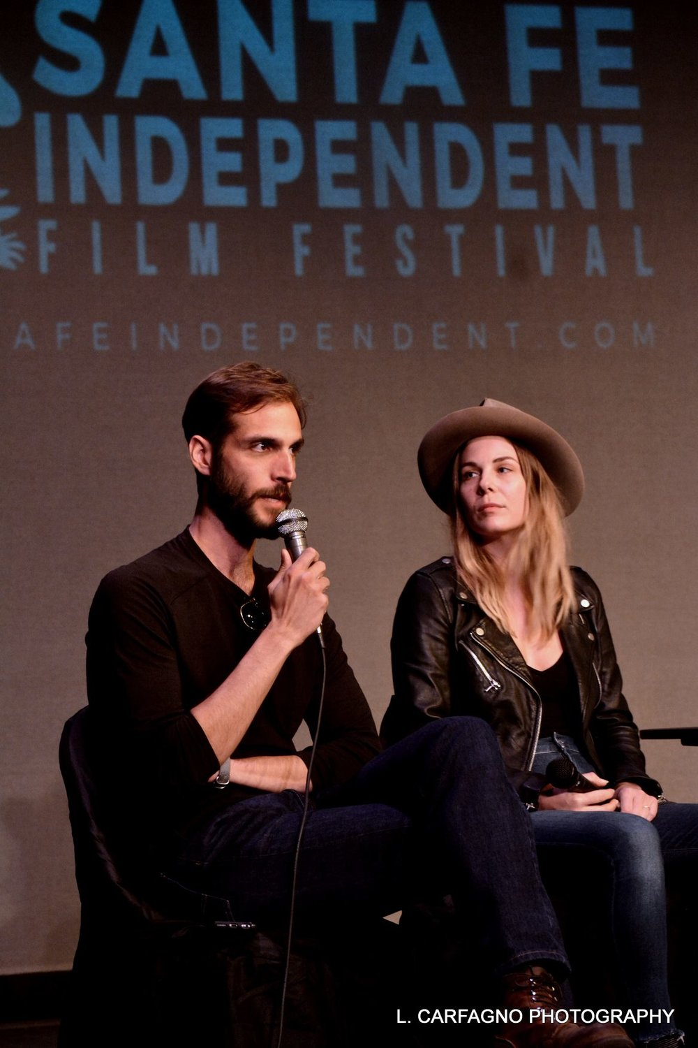 Cheryl took part in the Filmmaker Panel