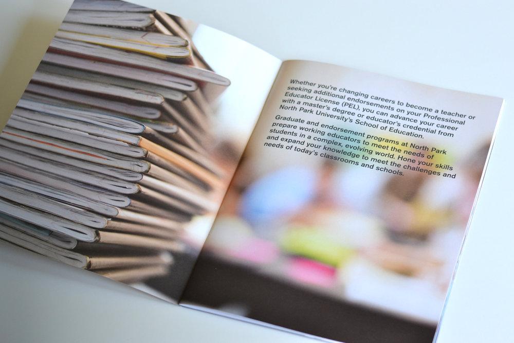 University viewbook design