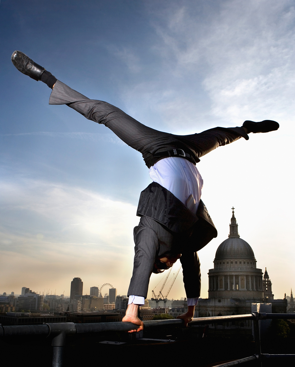 Eversheds LLP                       Parkour over St Paul's