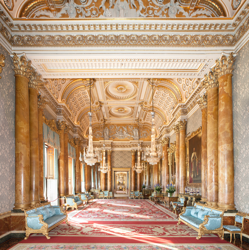 The Red Drawing Room, Buckingham Palace