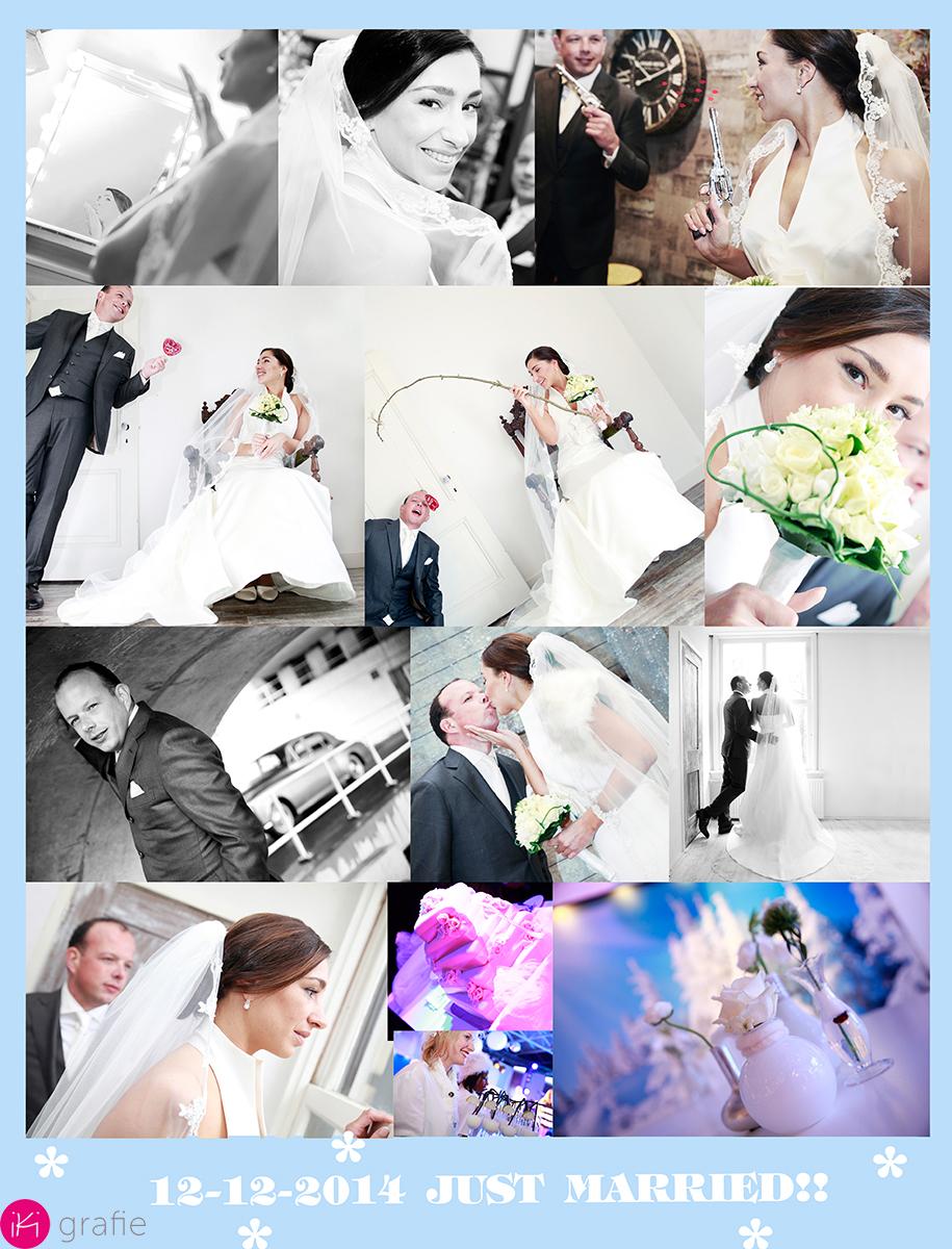 impressie van de trouwreportage.