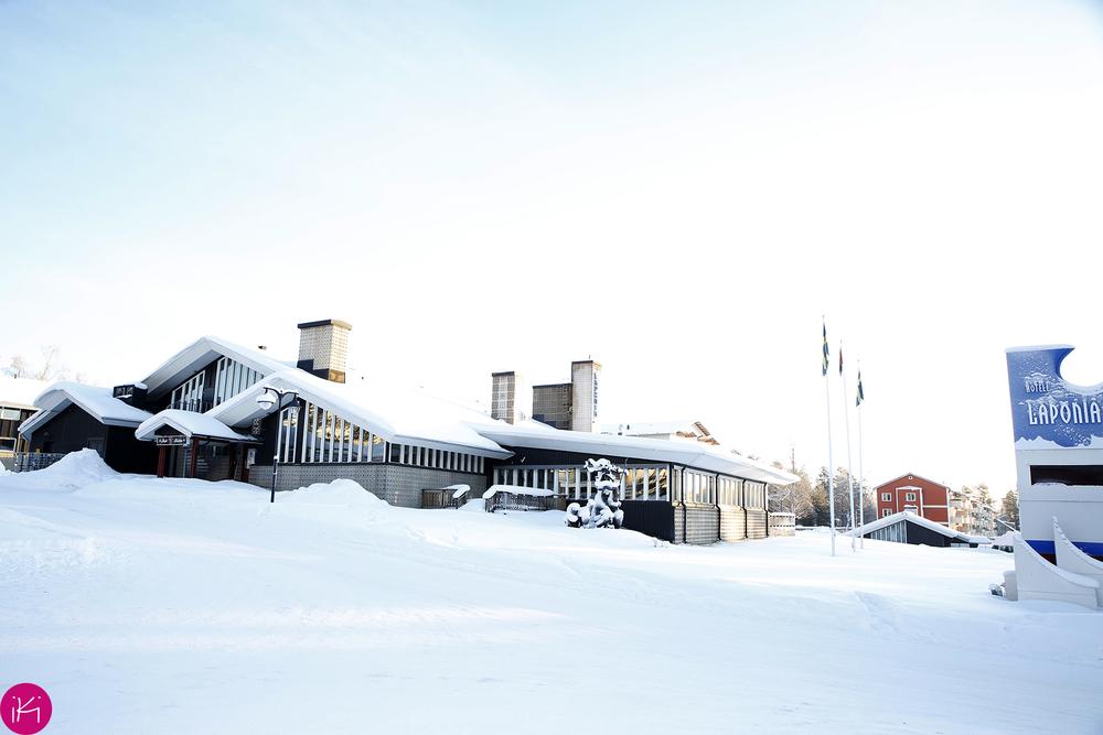 Ons mooie doolhof hotel Laponia
