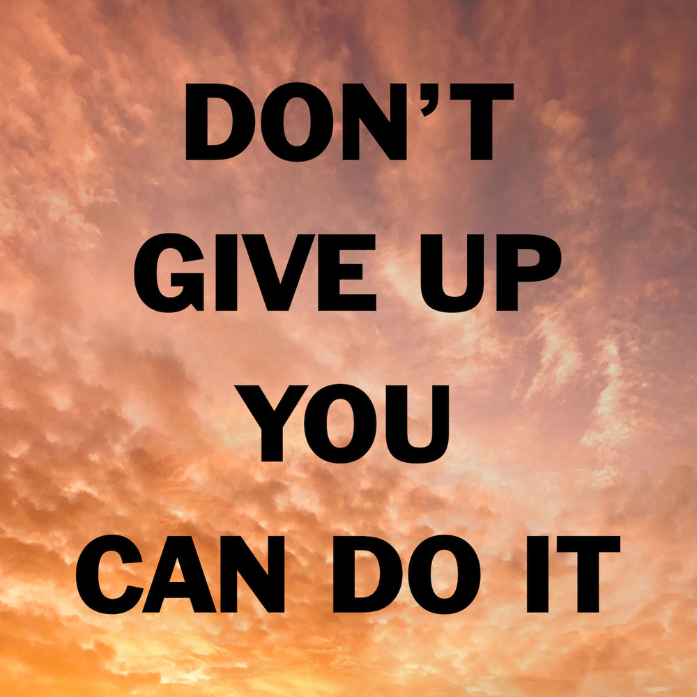 Don't Give Up You Can Do ItSchwerpunkt - Released:8-JUN-2018Catalogue:IHMR XVIIIFormat: Tape, Digital