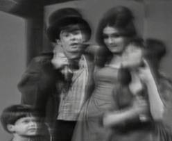 "Davey Jones as the Artful Dodger in ""Oliver"" performs on The Ed Sullivan Show on Feb 9, 1964. The same show on which the Beatles debuted."