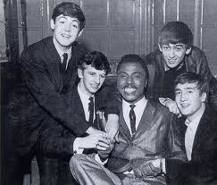 Little Richard with the Beatles in 1962