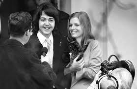 Paul and Linda Eastman on their Wedding Day.