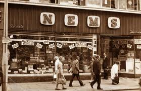 One of two shops in Liverpool owned by the Epstein family/