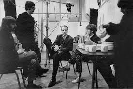 "Having tea with the Beatles at Abbey Road during the making of ""Sgt. Pepper"""