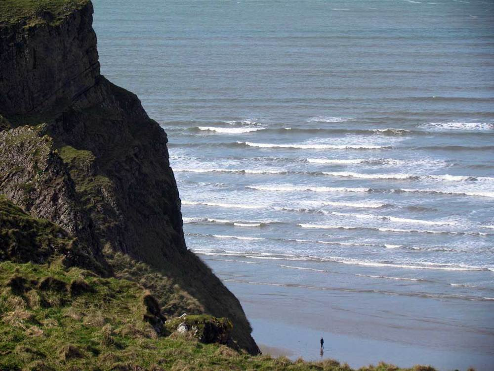 Gower Cliff