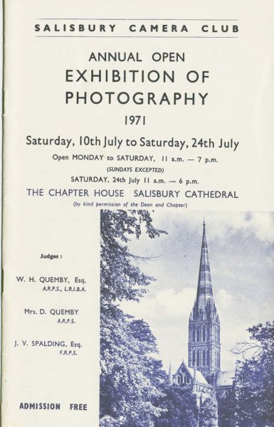 Exhibition of Photography 1971