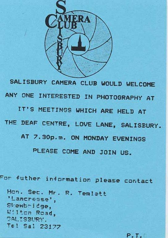 Programme 1987