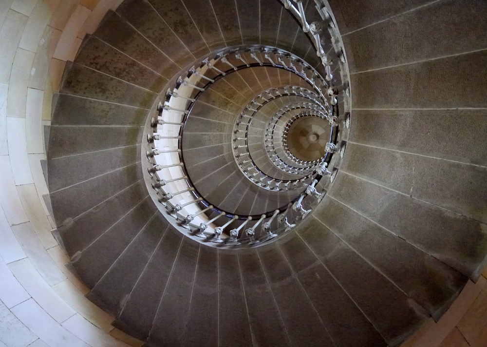 Third 'Lighthouse Spiral' by Peter Woodhouse