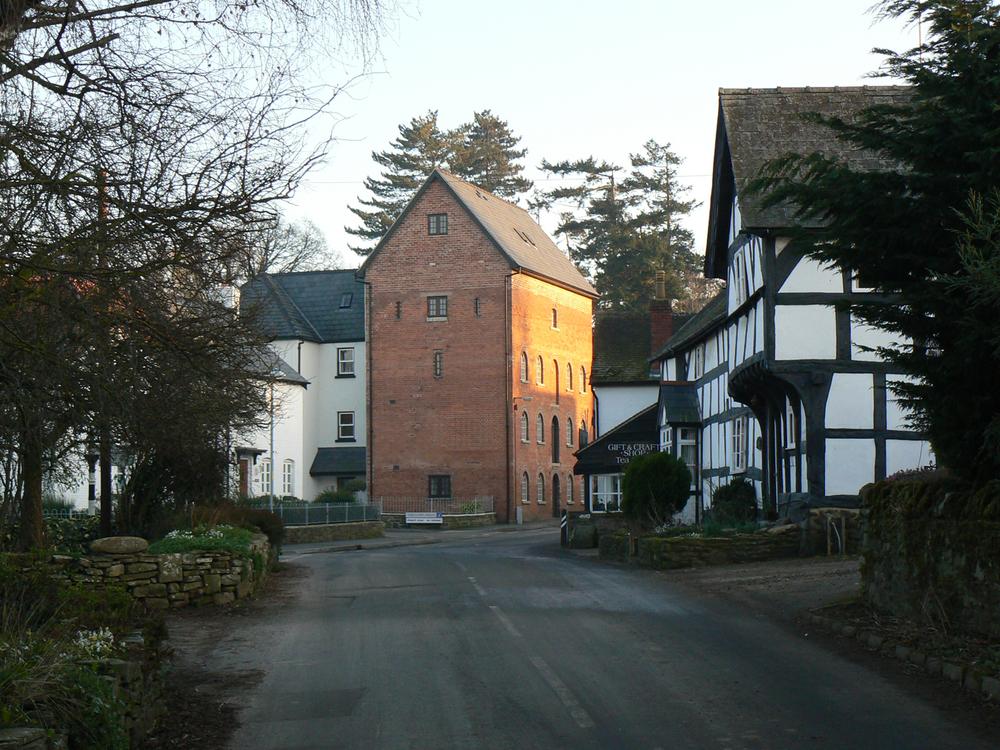Weobley Street Scene