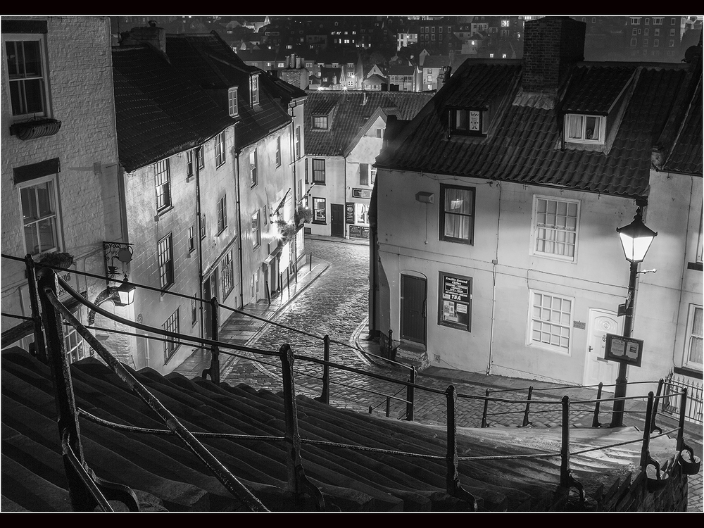 'Whitby at Night' by Tony Oliver ARPS,CPAGB, BPE2*