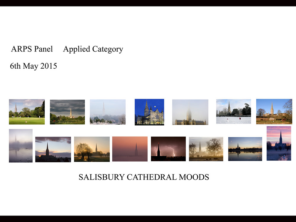 Cathedral Moods Panal