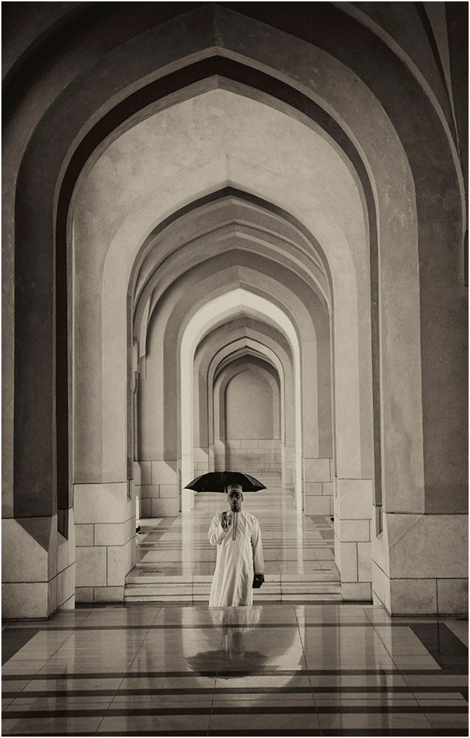 'Umbrella Man' by Tony Oliver
