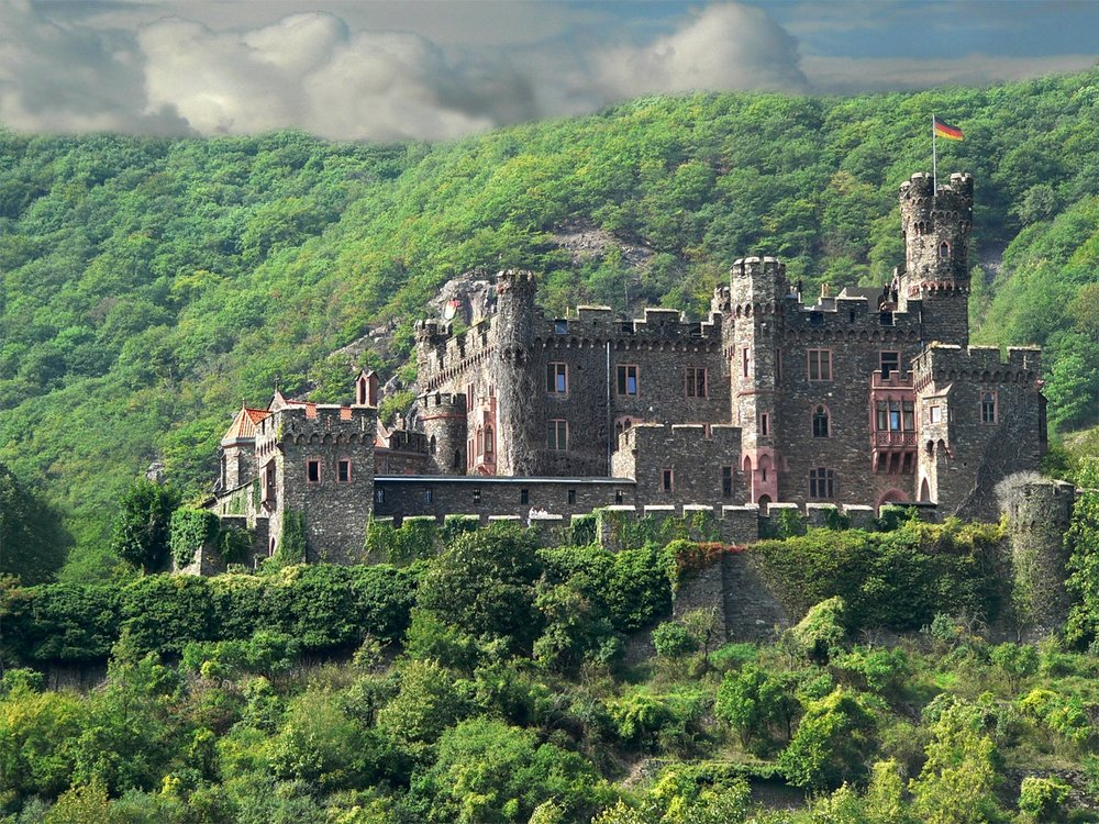 'Castle on the Rhine' by Graham Chubb
