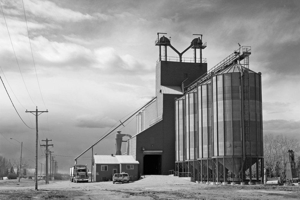 'The Grain Silos' by Richard Ramsay
