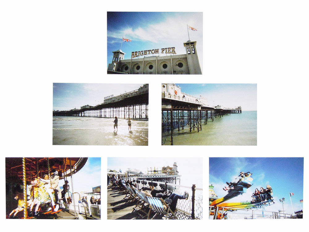 First 'Brighton Pier' by Mandy Herridge