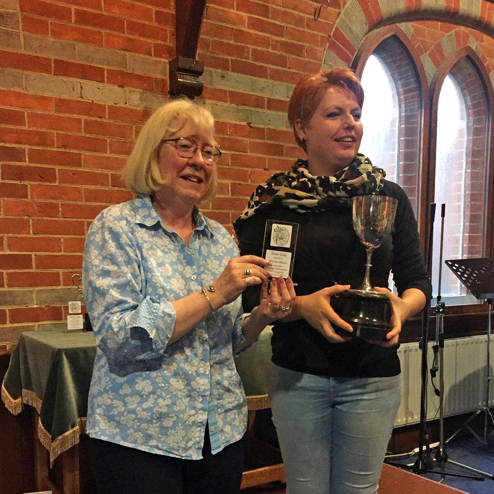 Toomey Trophy Winner Marina Hauer