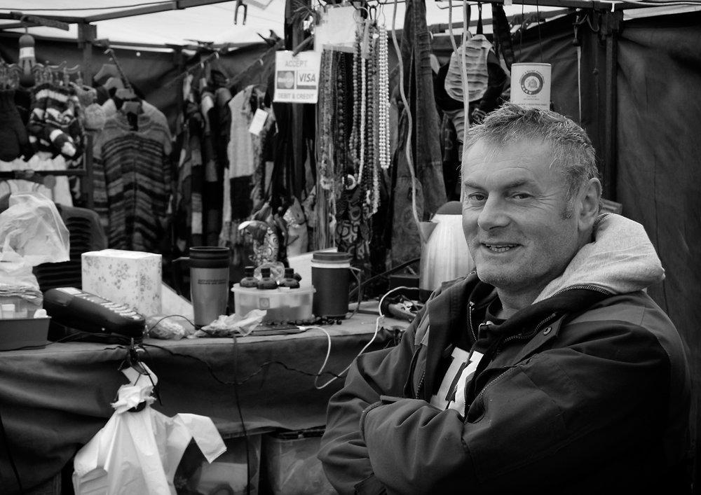 Third 'Market Trader' 02 by Tony Oliver