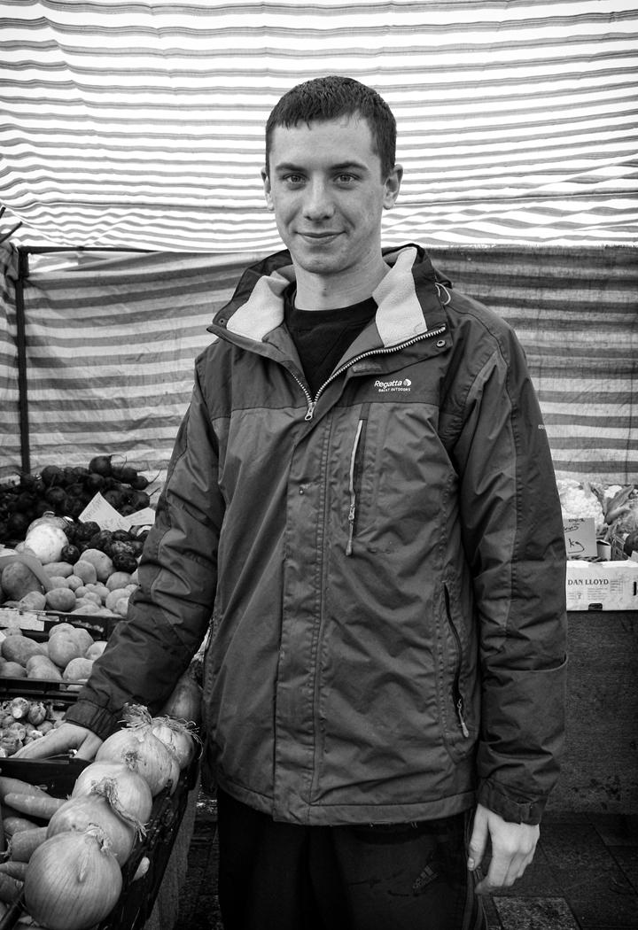 Third 'Market Trader' 03 by Tony Oliver