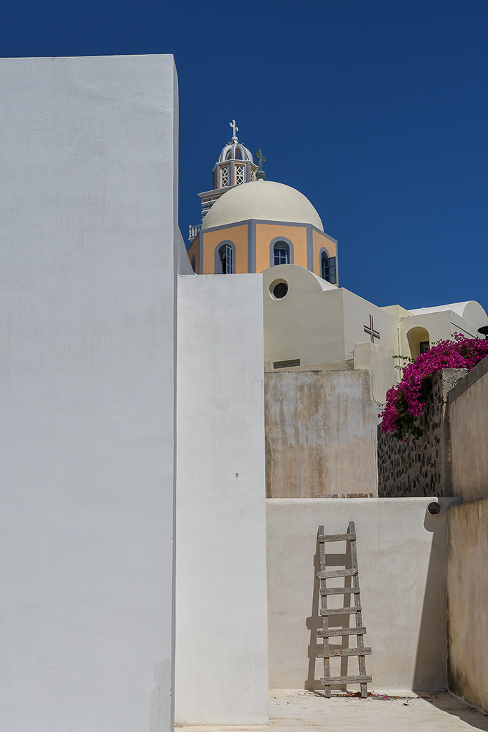 First 'Three steps to Heaven Santorini' by Mark Cooper