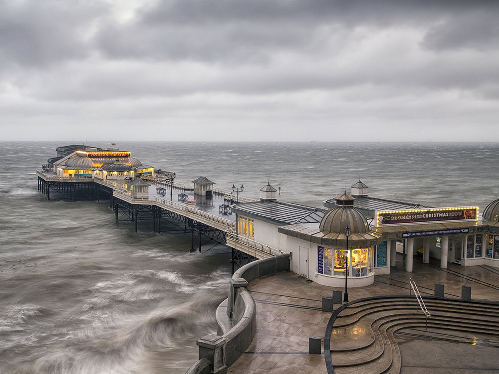 'Cromer Pier Morning' by Tony Oliver