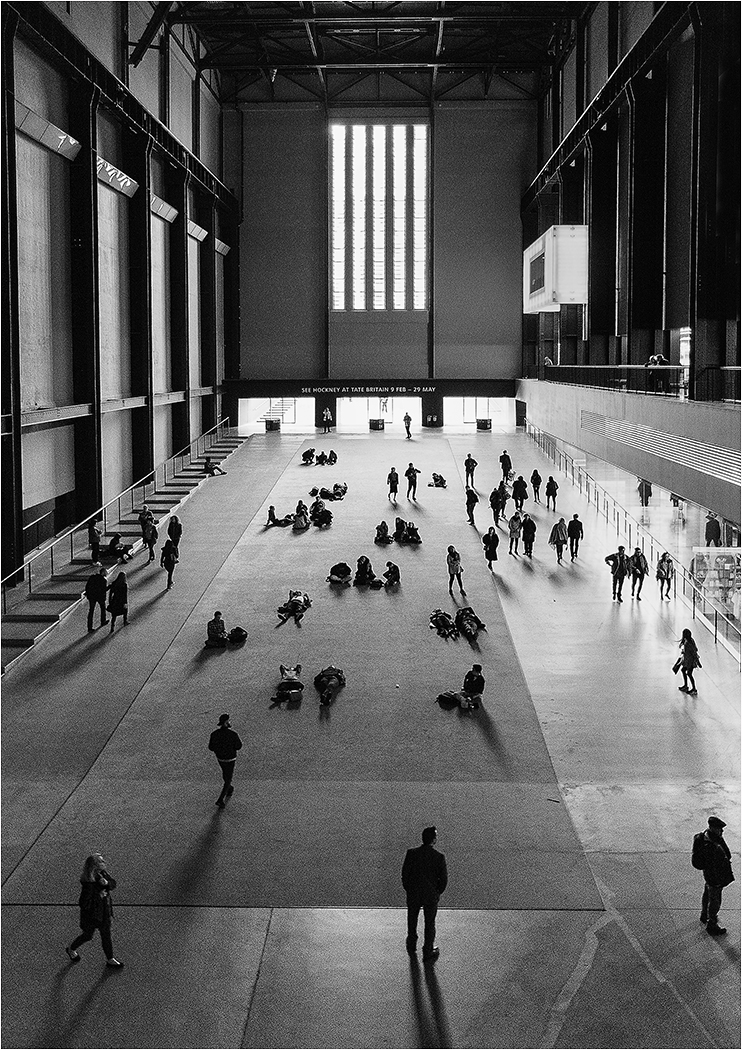 First 'Tate Modern Turbine Hall' by Tony Oliver