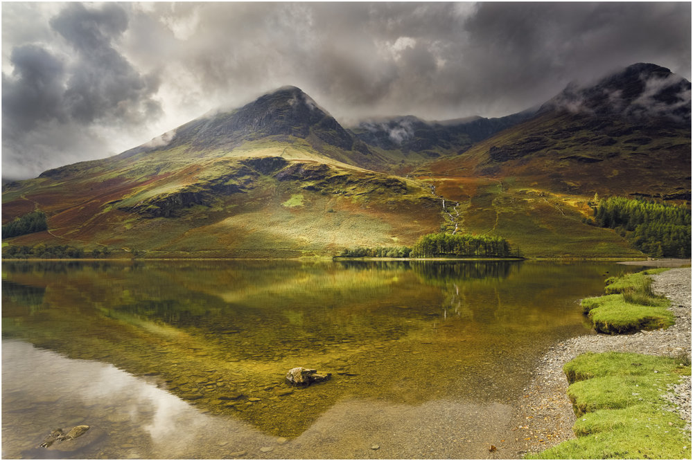 'Dancing Light on Buttermere' by John Barton