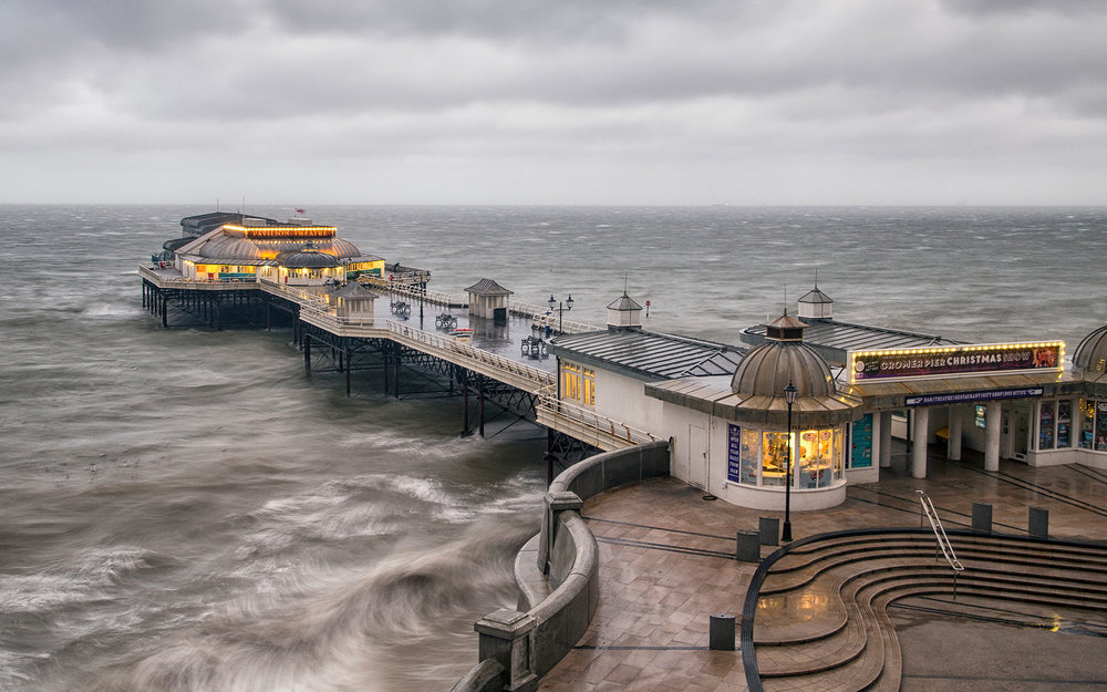 Second 'Cromer Pier' by Tony Oliver