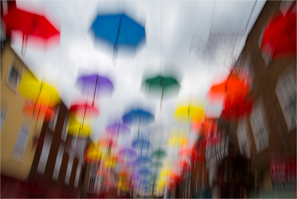 HC 'Raining Colours' by Tony Oliver