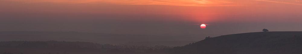 Second 'Sunrise over Compton' by Rob Lanham