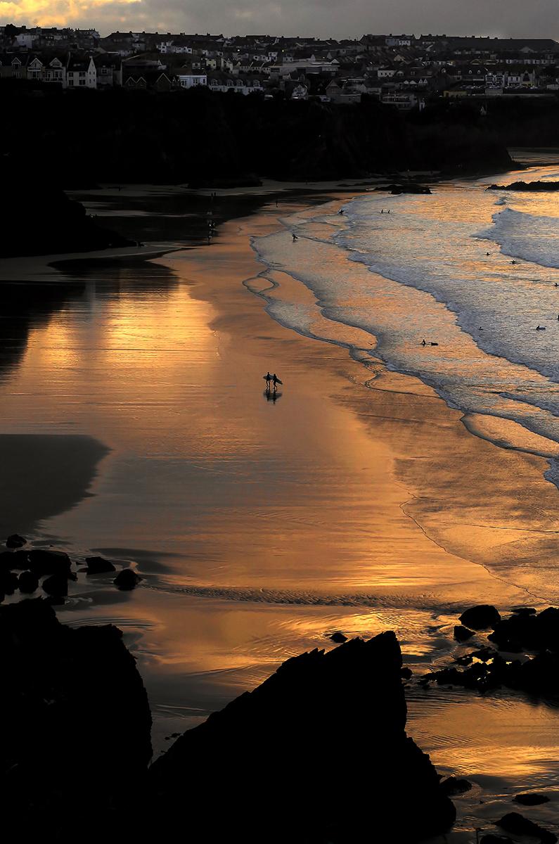 First 'Beach Walk' by Louise Topp
