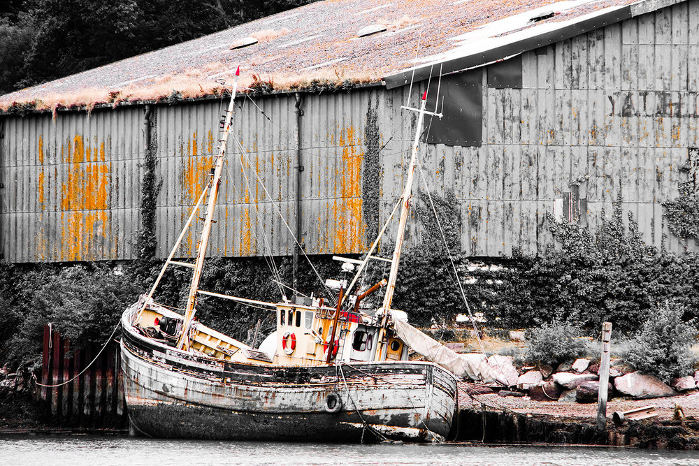 'Old Boat Yard' by Rob Tarlton