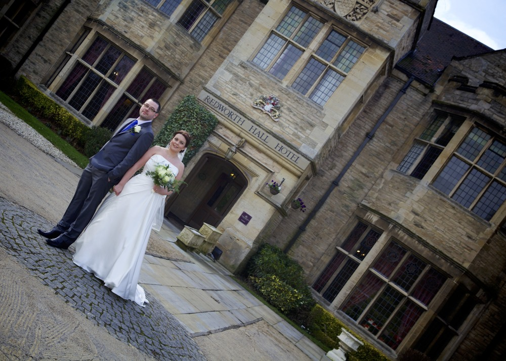 Lynne & James at Redworth Hall