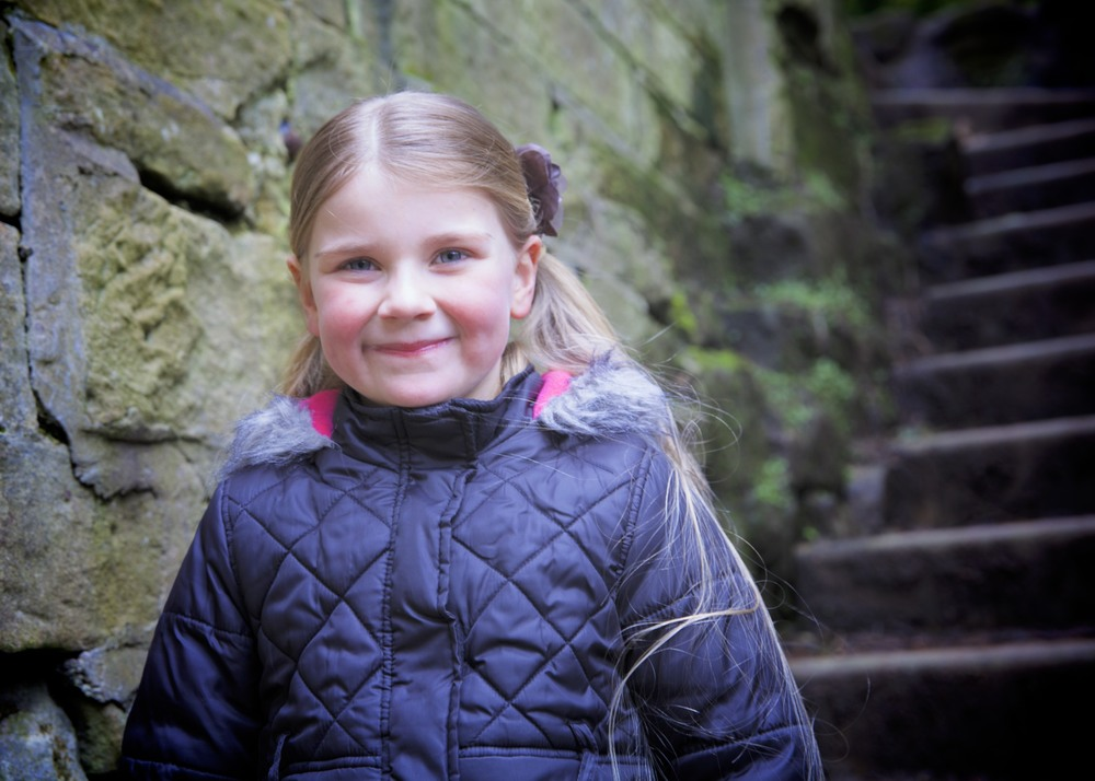 Catherine at Jesmond Dene