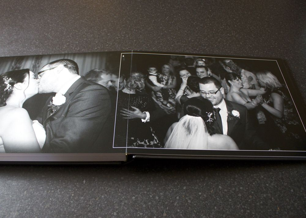 Tony Sarlo Wedding Album - Lay Flat