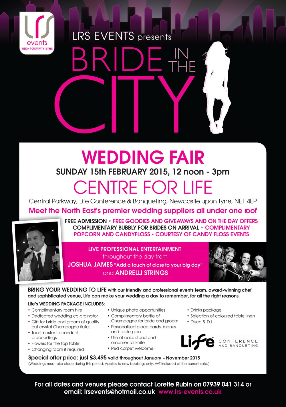 Barry Forshaw Photography will be at the Centre for Life on Sunday 15th February