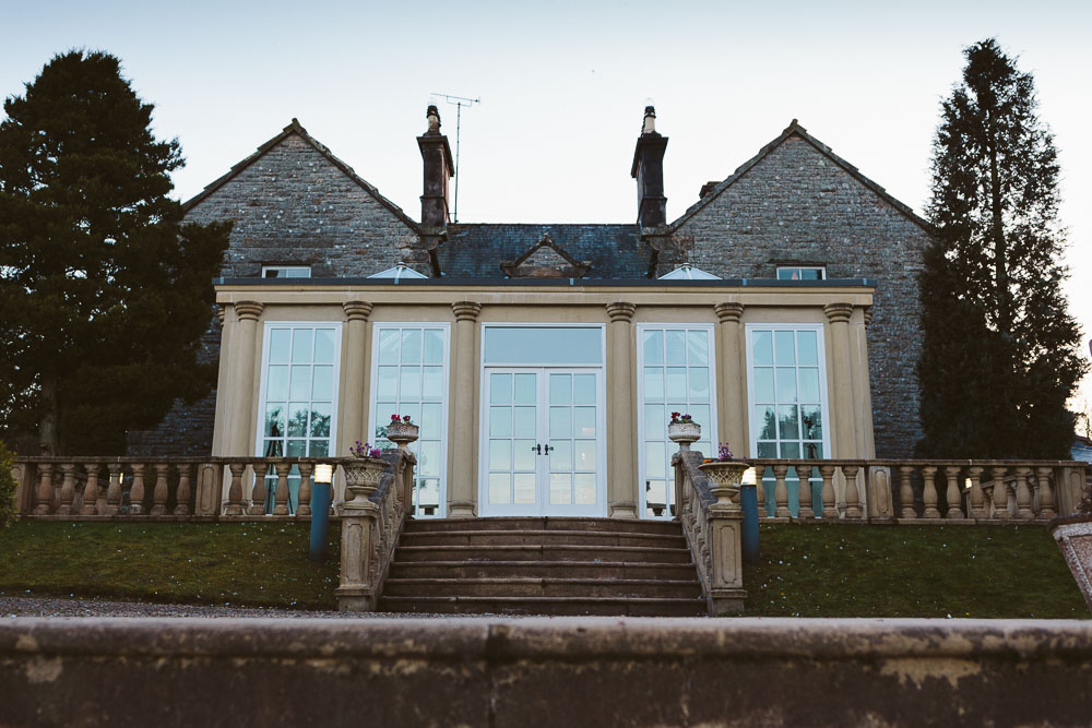 View of the main wedding ceremony room - The Orangery - from outside