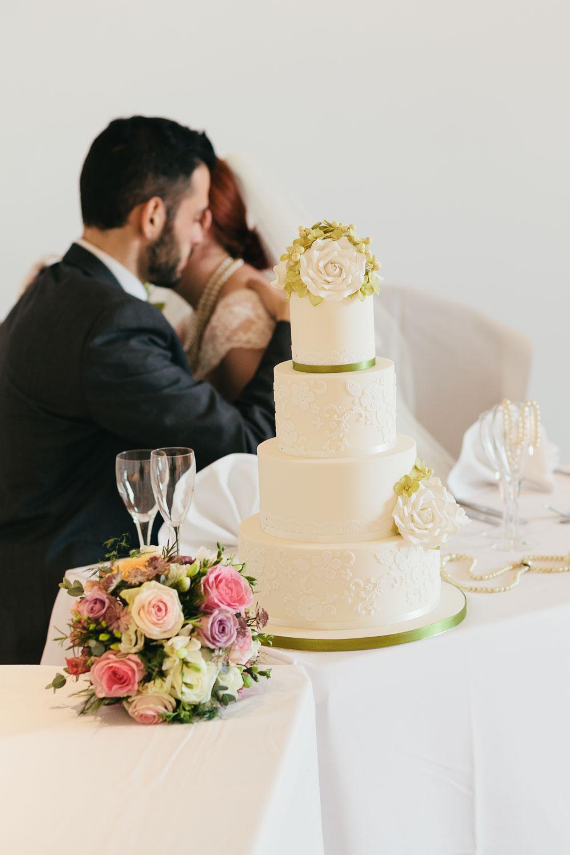 My photo used in Wedding Cakes Magazine