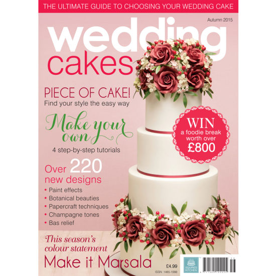 Wedding Cakes Magazine Cover - Autumn 2015 - Featuring Barry Forshaw Photography