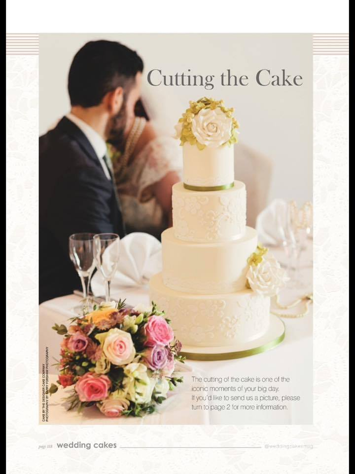Barry Forshaw Photography in Wedding Cakes Magazine