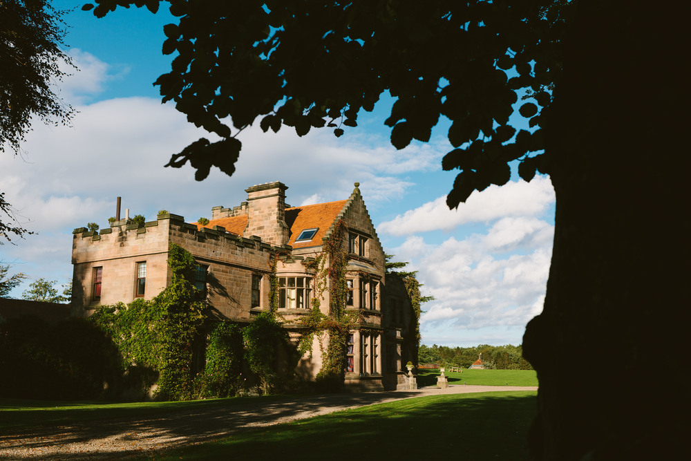 Ellingham Hall Northumberland Wedding Venue