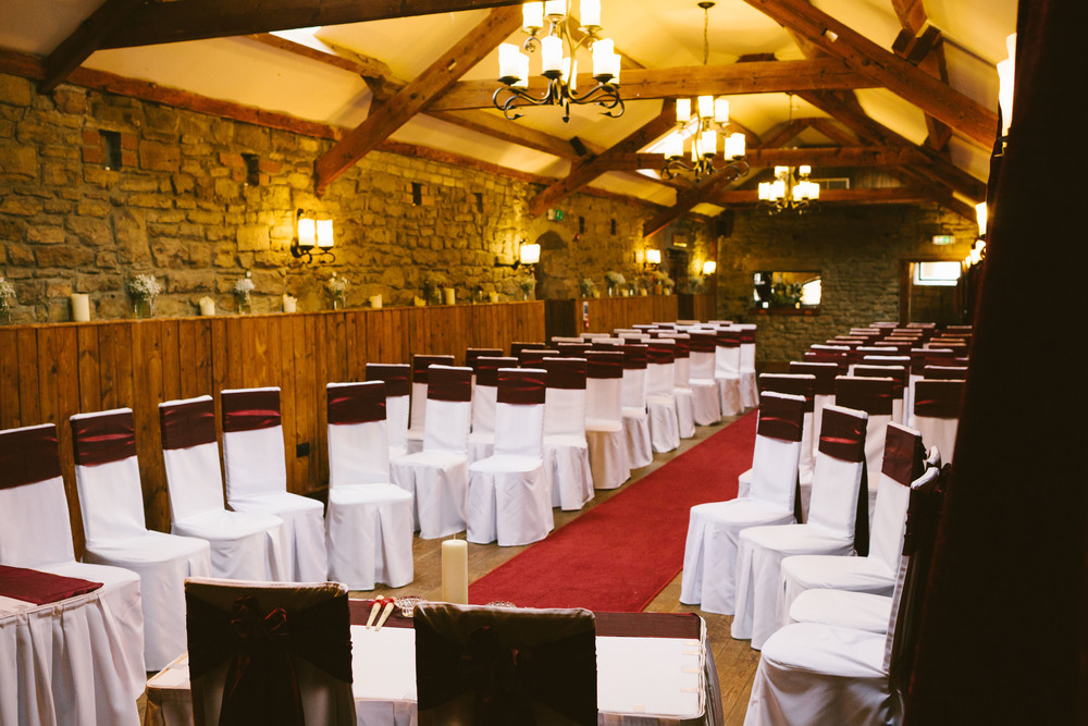 Durham Wedding Venue South Causey Inn Tanfield Suite