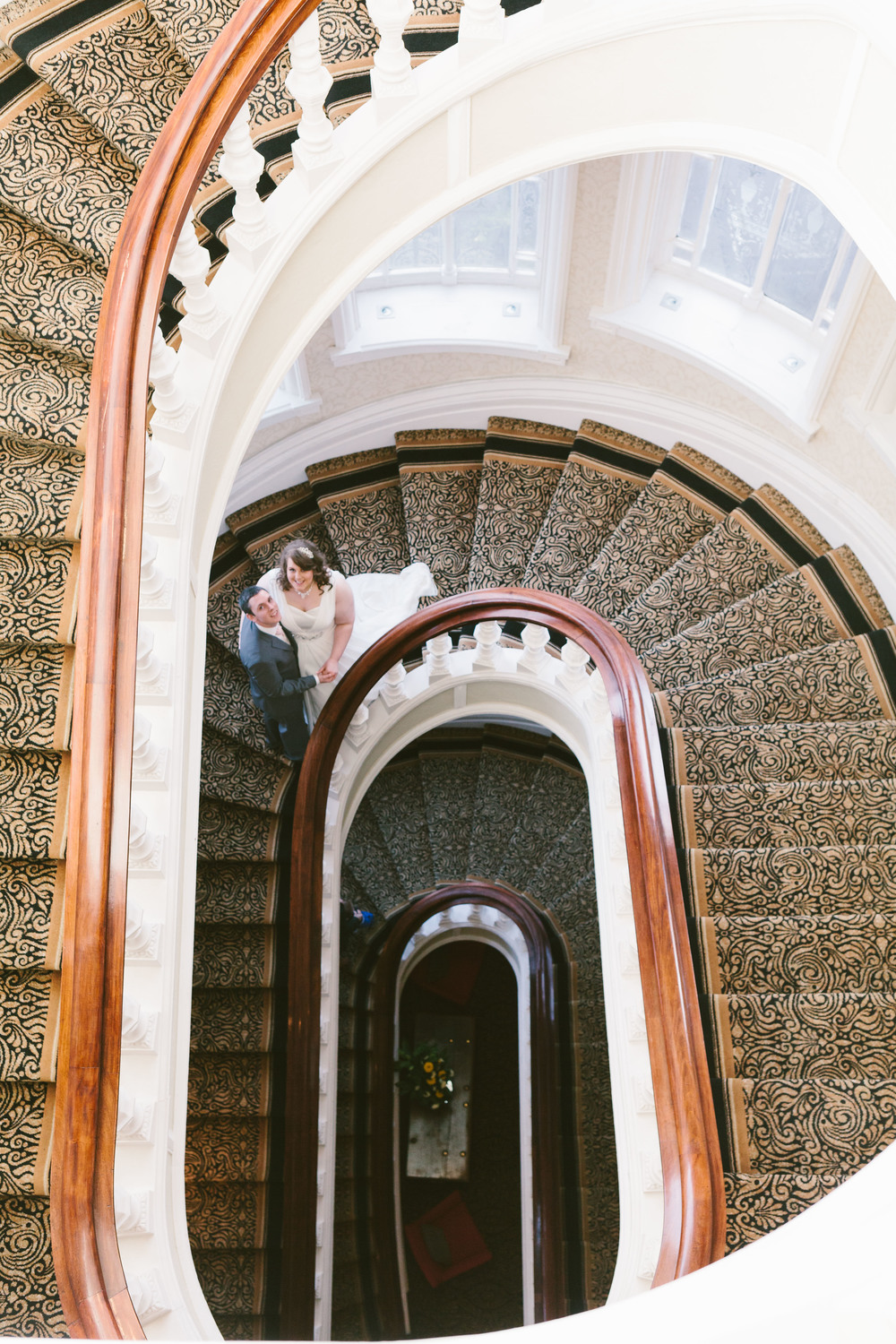 Newcastle Wedding Venue - Grand Hotel Tynemouth - Staircase