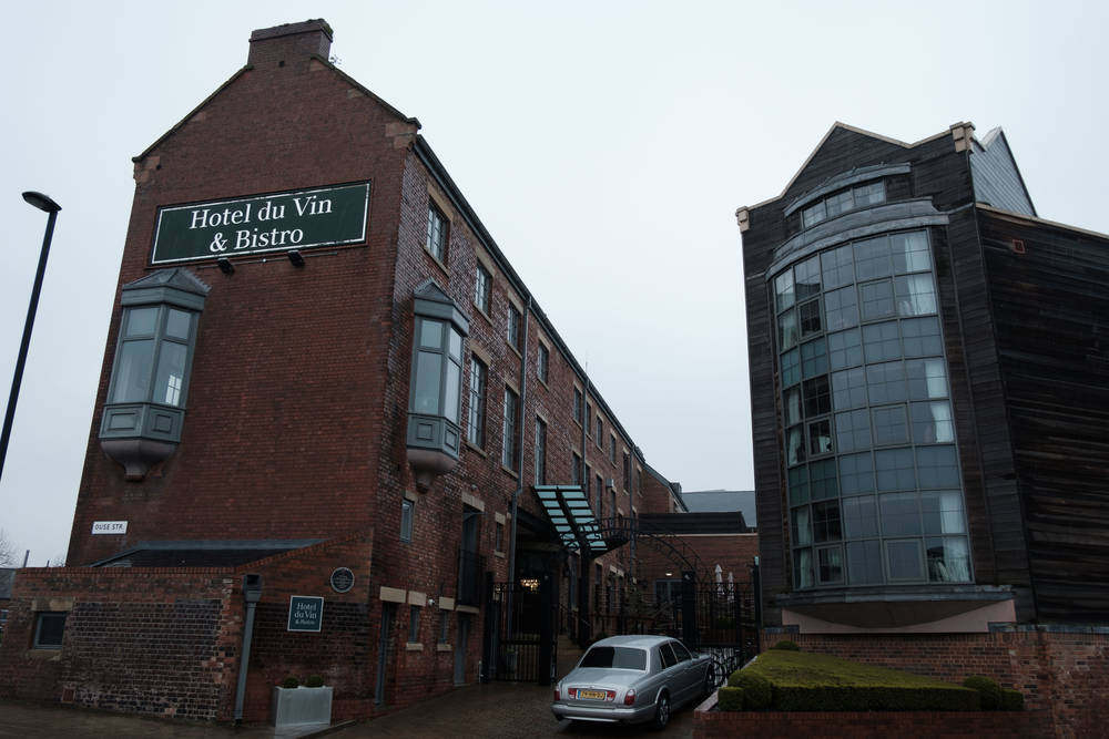 Entrance to Hotel du Vin Newcastle upon Tyne