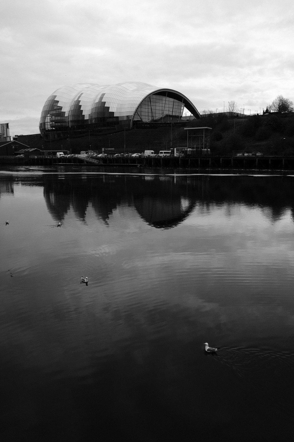 Sage Gateshead sits right on the banks of the River Tyne